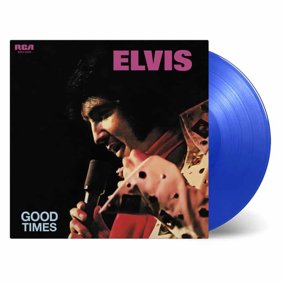 Buy Online Elvis Presley - Good Times Transparent Blue