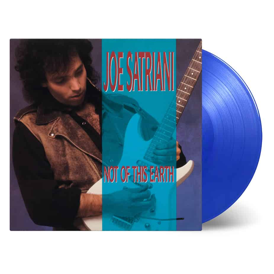 Buy Online Joe Satriani - Not Of This Earth Transparent Blue