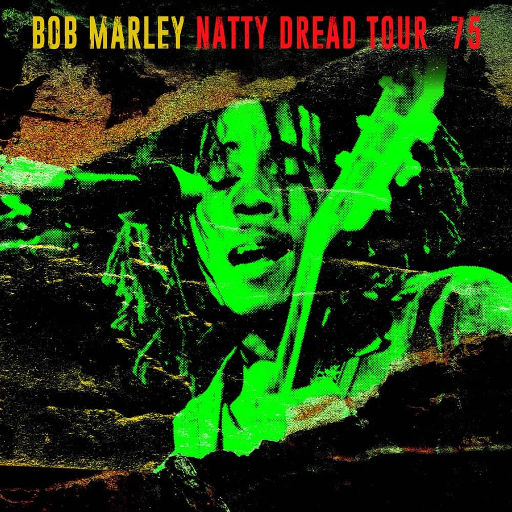 Buy Online Bob Marley & The Wailers - Natty Dread Tour '75 Yellow