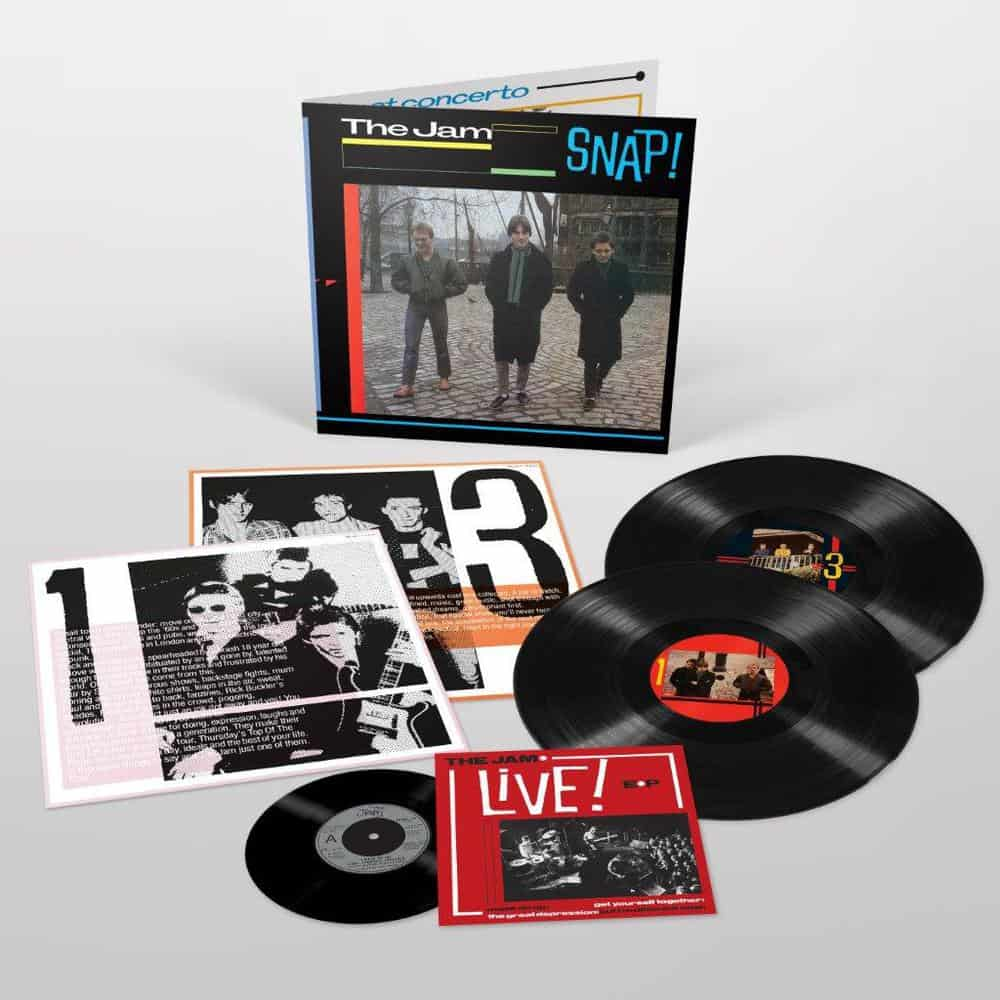 Buy Online The Jam - Snap! Double Vinyl + 7-Inch Vinyl