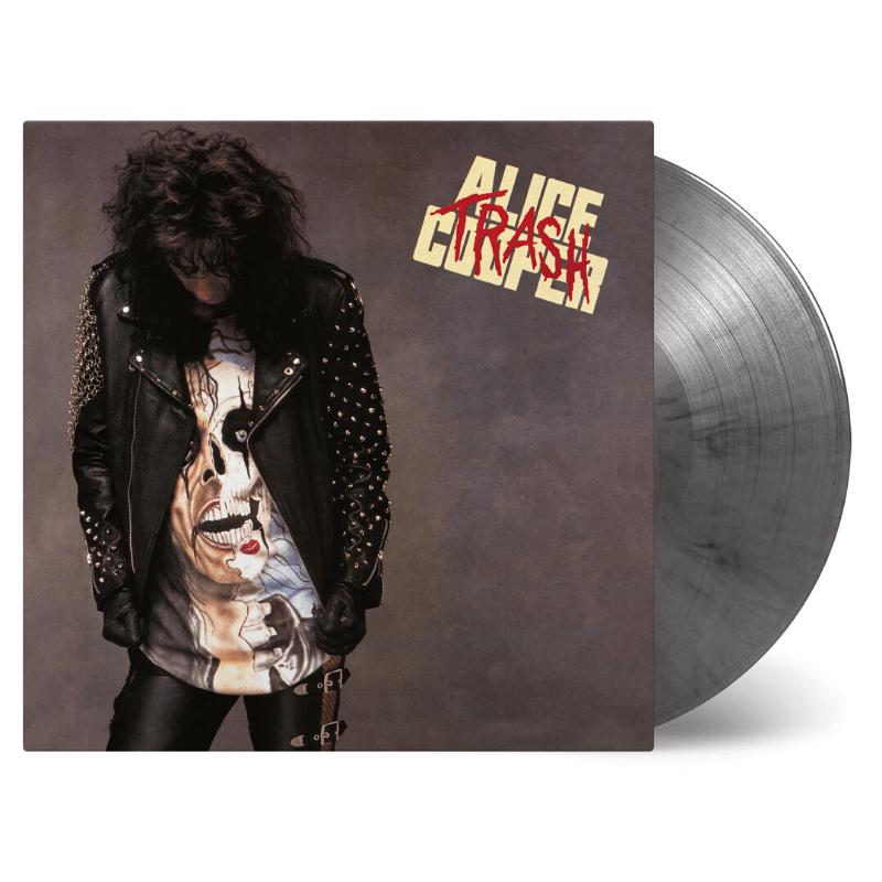 Buy Online Alice Cooper - Trash Silver/Black Marble Vinyl