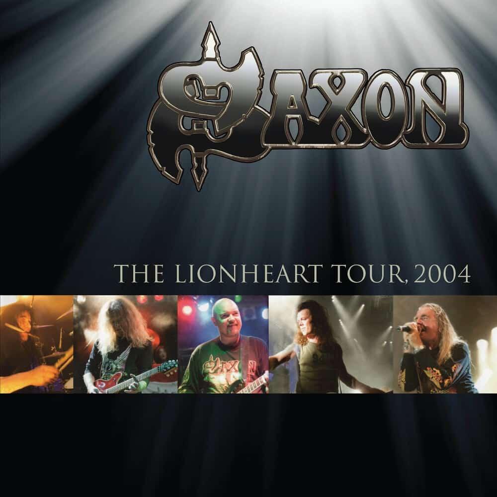 Buy Online Saxon - The Lionheart Tour 2004 Gold