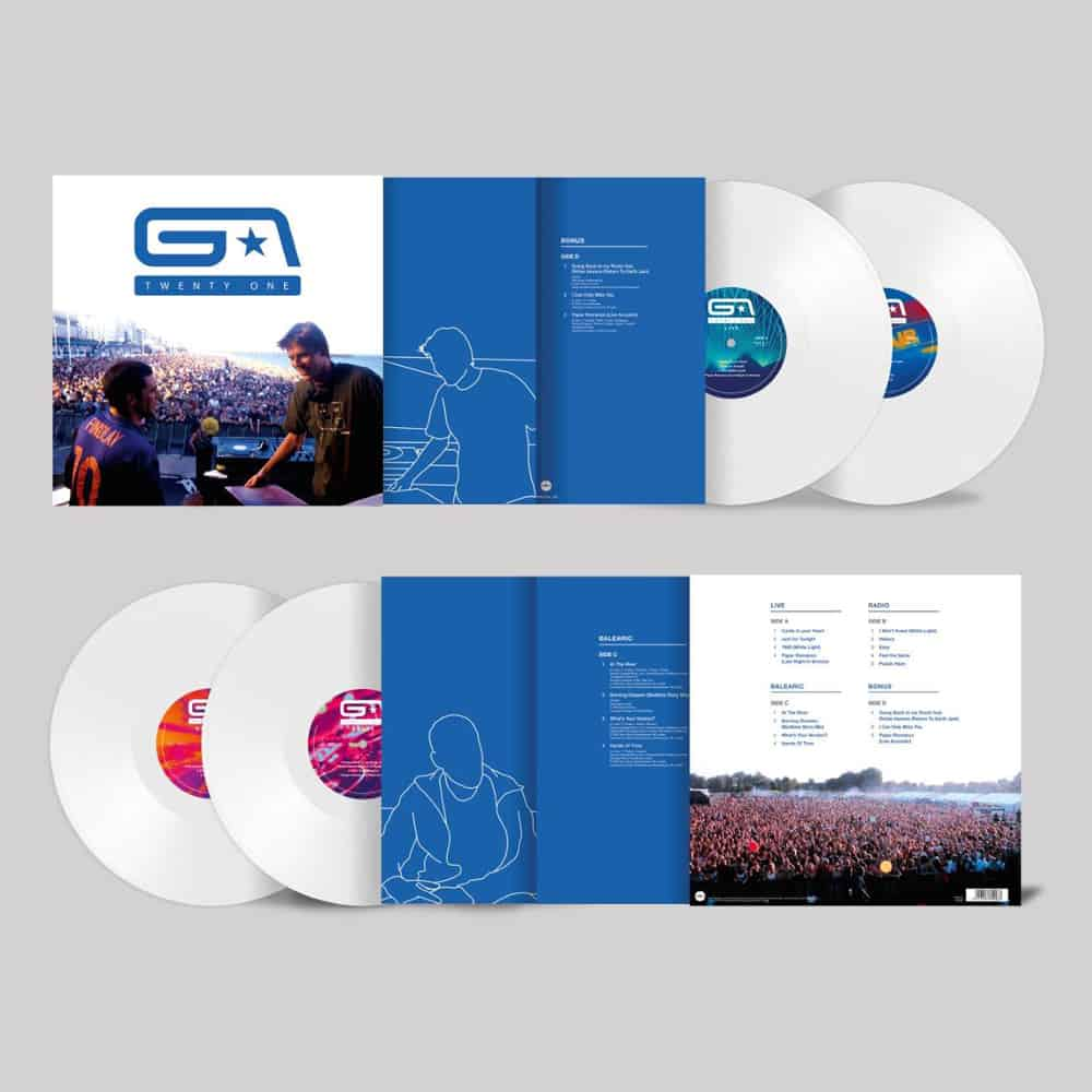Buy Online Groove Armada - 21 Years Double White