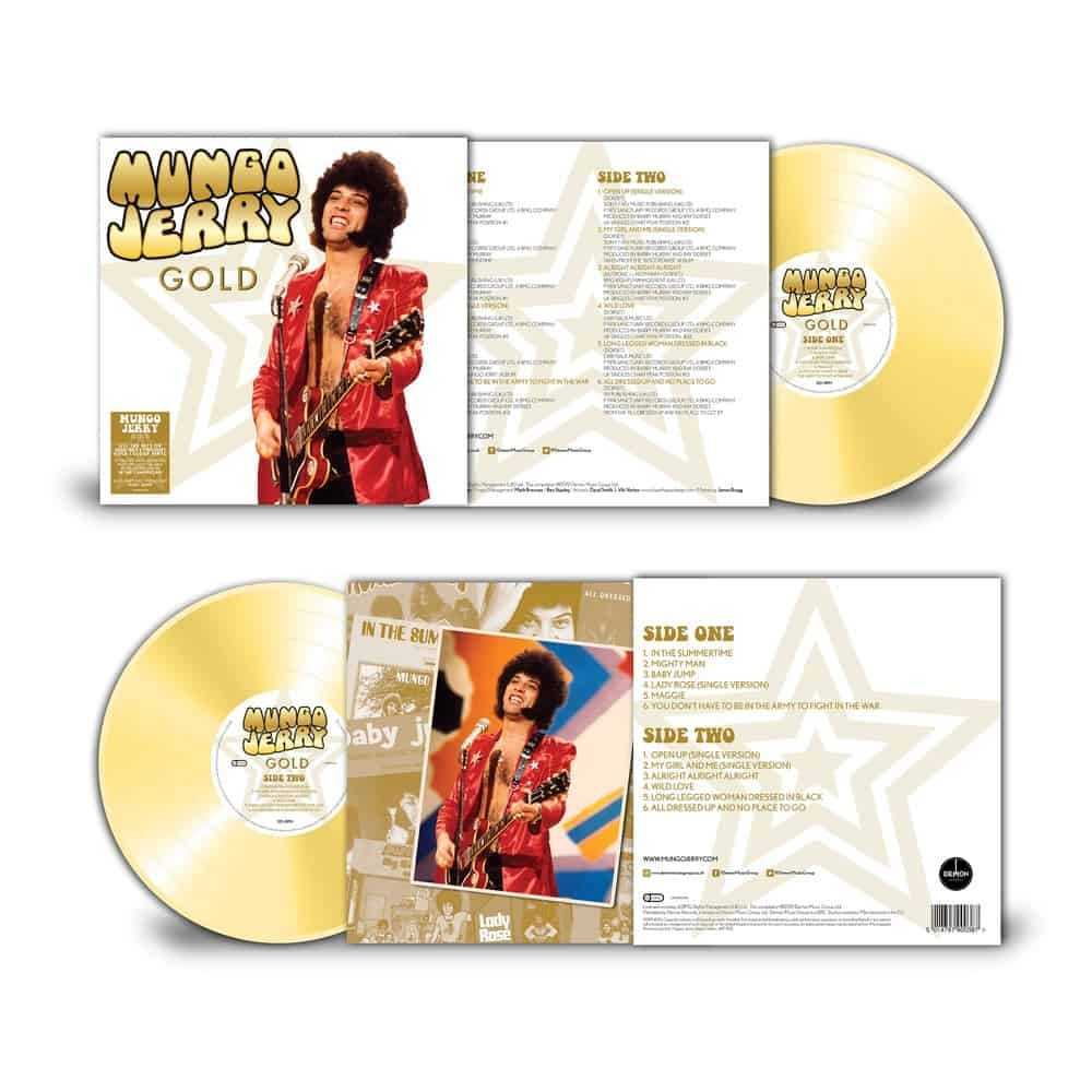 Buy Online Mungo Jerry - Gold Coloured