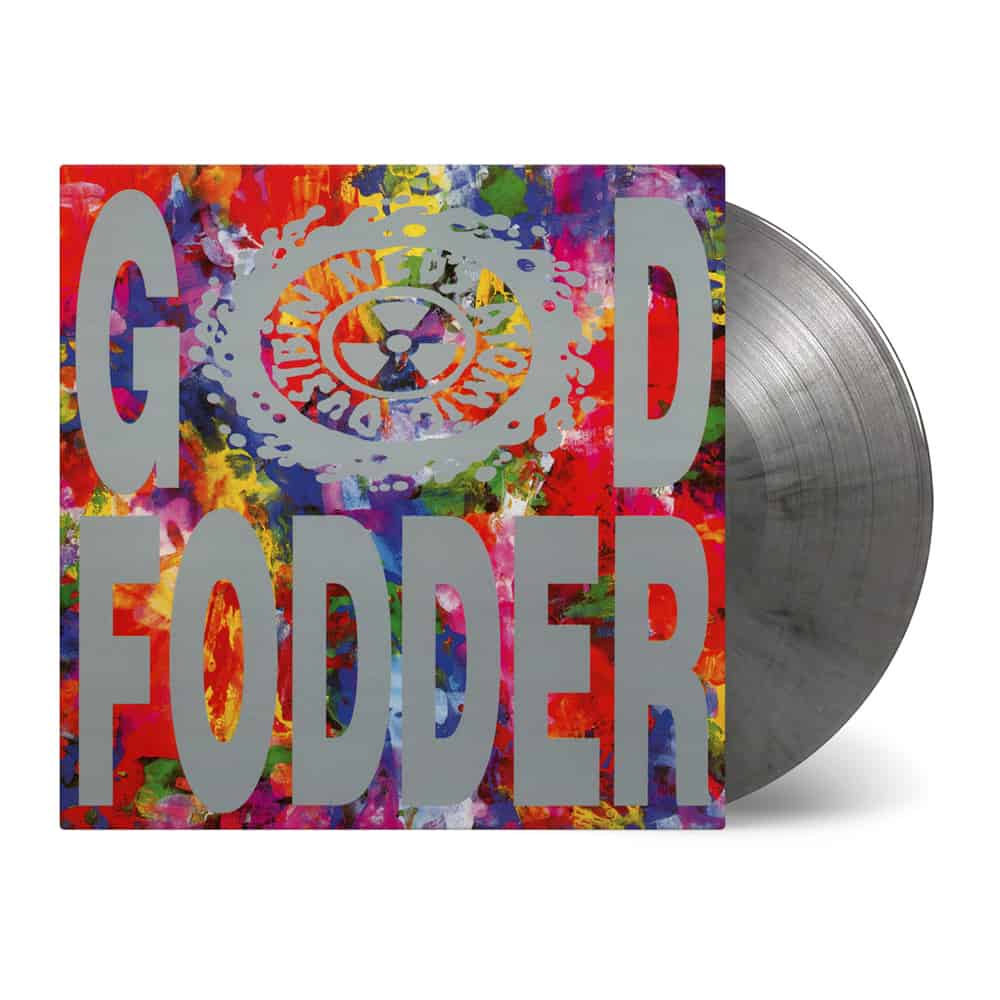 Buy Online Ned's Atomic Dustbin - God Fodder Silver/Black Marble