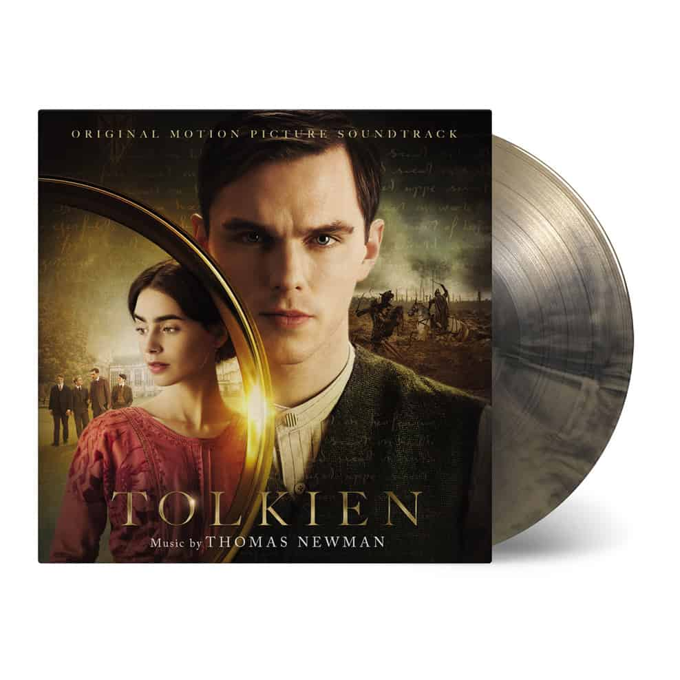 Buy Online Thomas Newman - Tolkien OST Gold/Black Marble