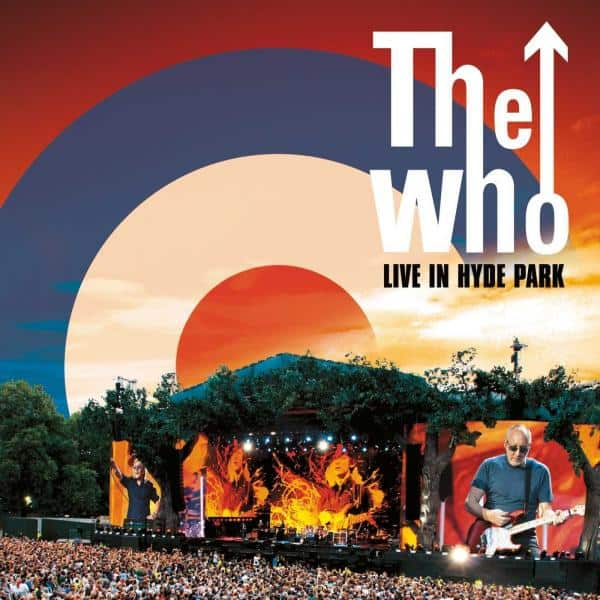 Buy Online The Who  - Live At Hyde Park (Deluxe DVD/CD)