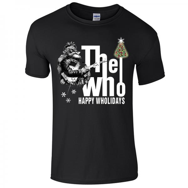 Buy Online The Who  - Classic Guys Christmas T-Shirt