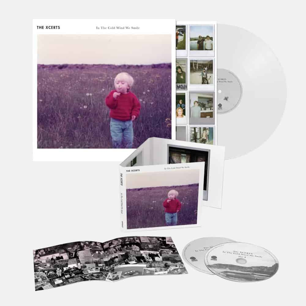 Buy Online The Xcerts - In The Cold Wind We Smile CD Album + Vinyl