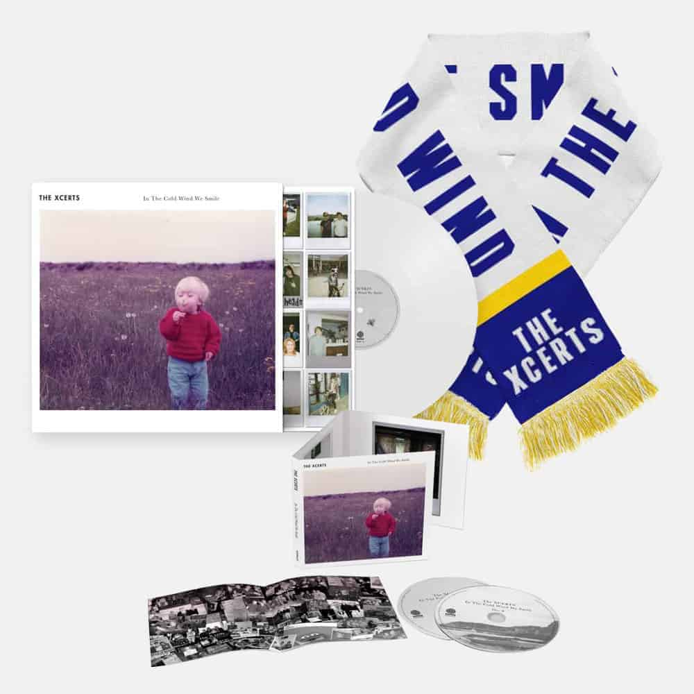 Buy Online The Xcerts - In The Cold Wind We Smile CD Album + Vinyl + Scarf