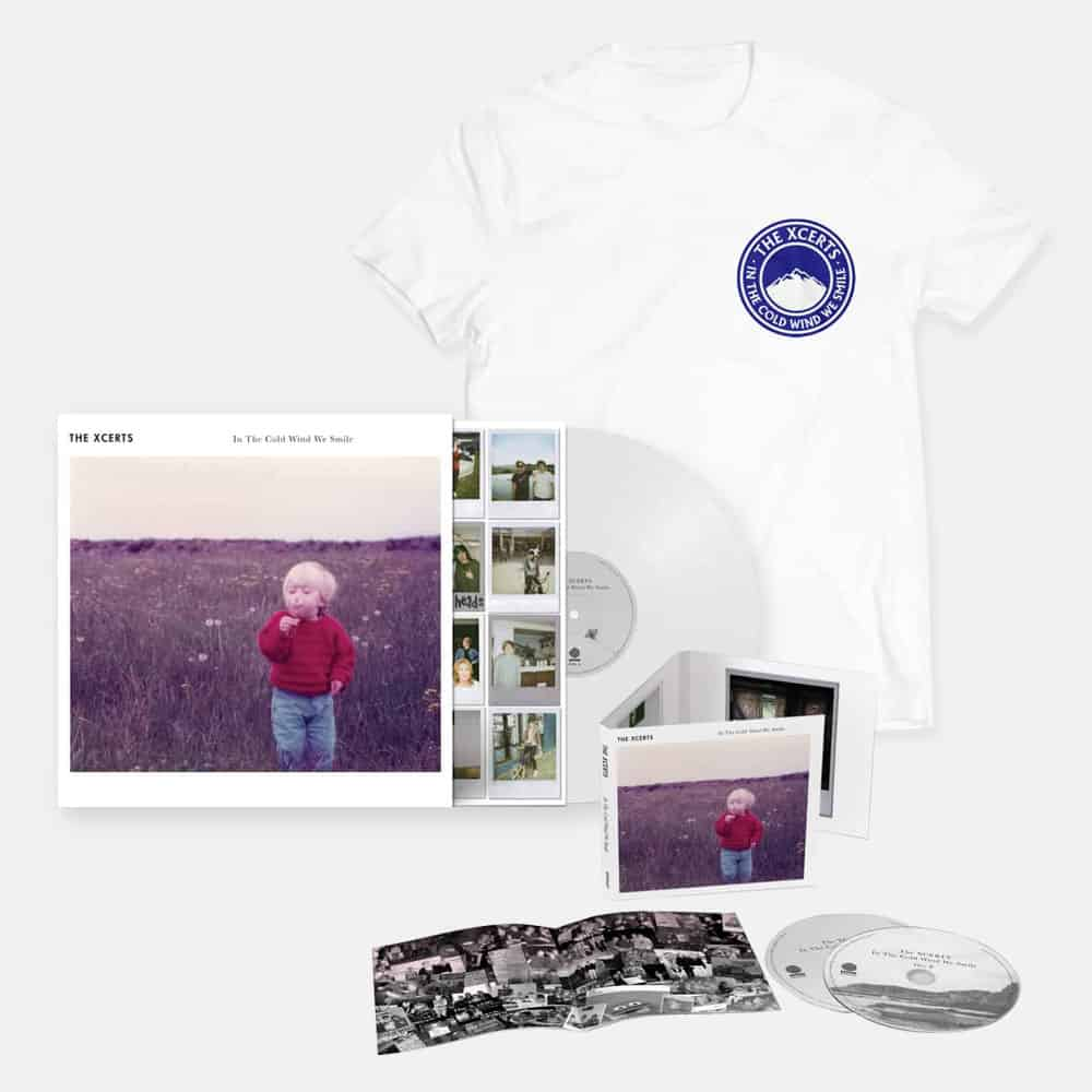 Buy Online The Xcerts - In The Cold Wind We Smile CD Album + Vinyl + T-Shirt