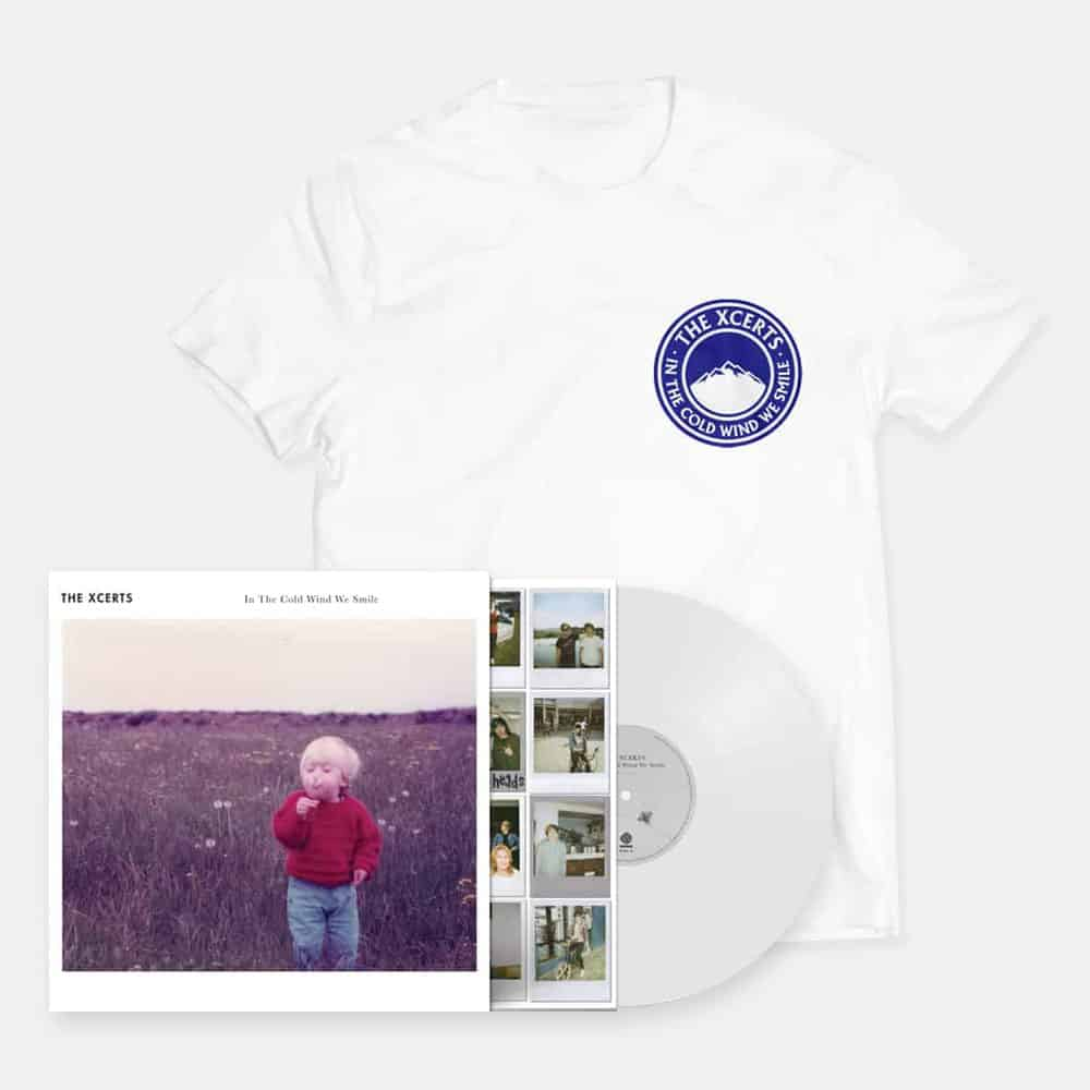Buy Online The Xcerts - In The Cold Wind We Smile Vinyl + T-Shirt