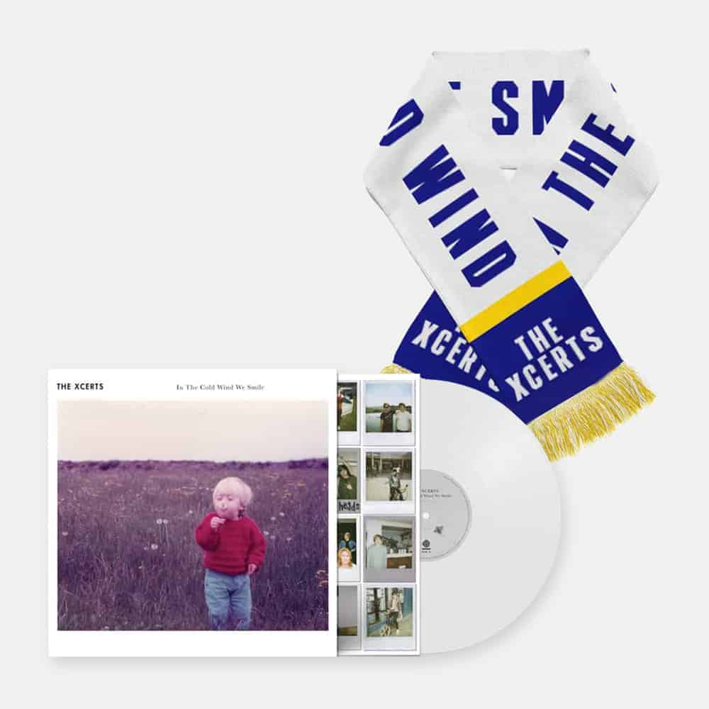Buy Online The Xcerts - In The Cold Wind We Smile Vinyl + Scarf