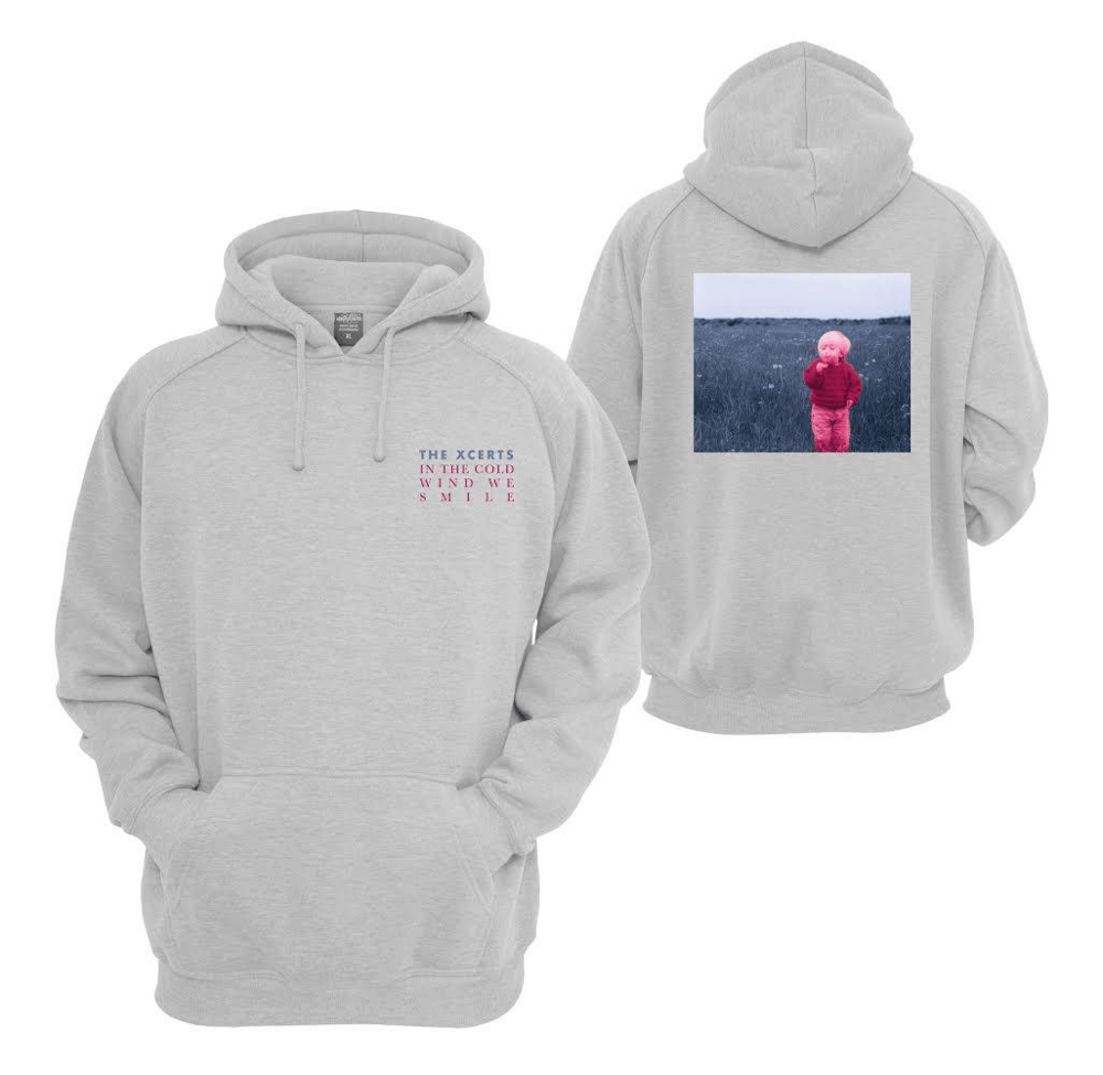 In The Cold Wind We Smile Hoodie
