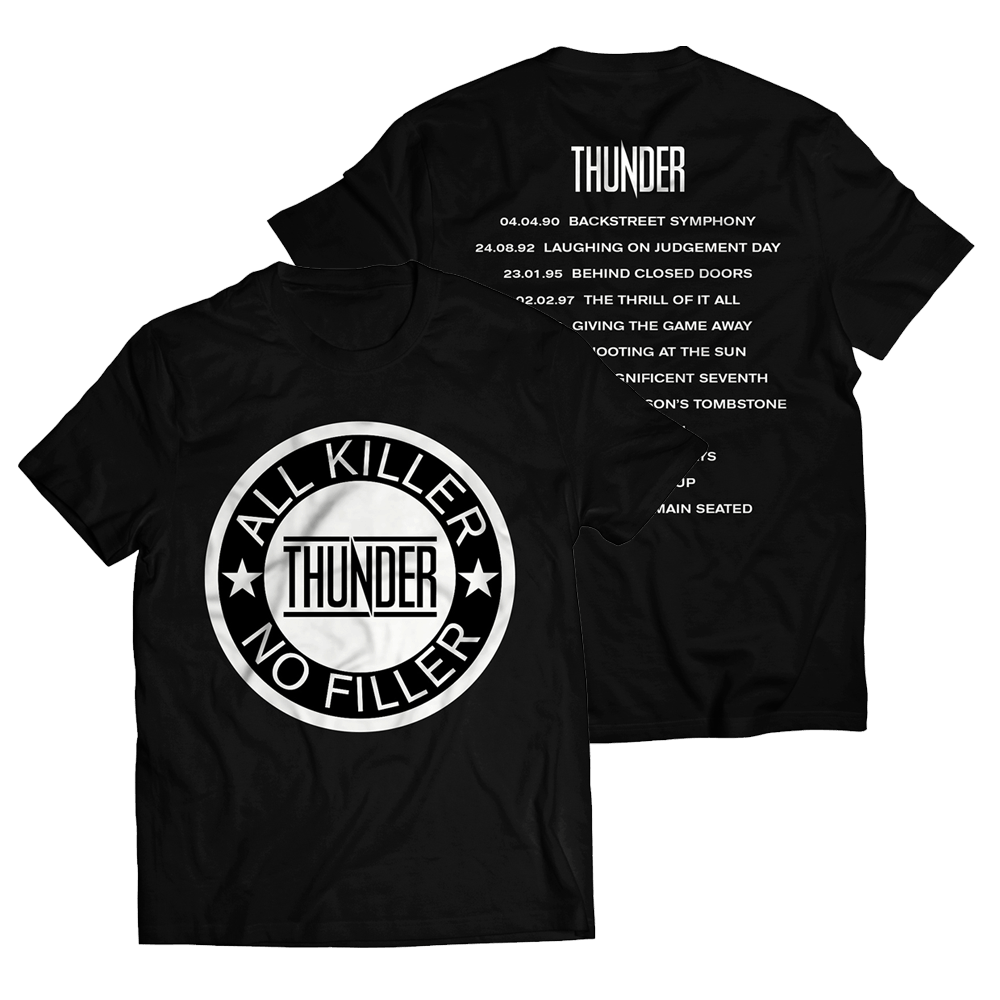 Buy Online Thunder - The Greatest Hits T-Shirt