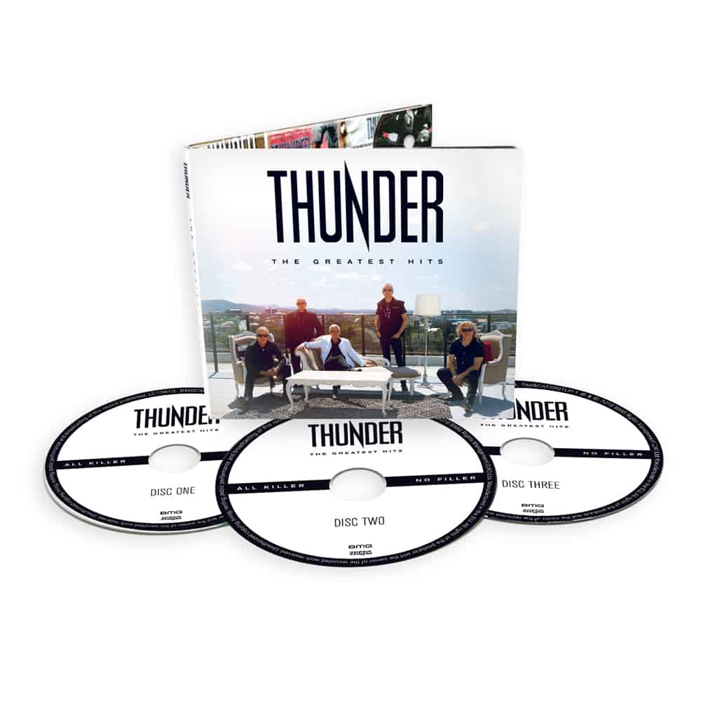 Buy Online Thunder - The Greatest Hits Deluxe 3CD