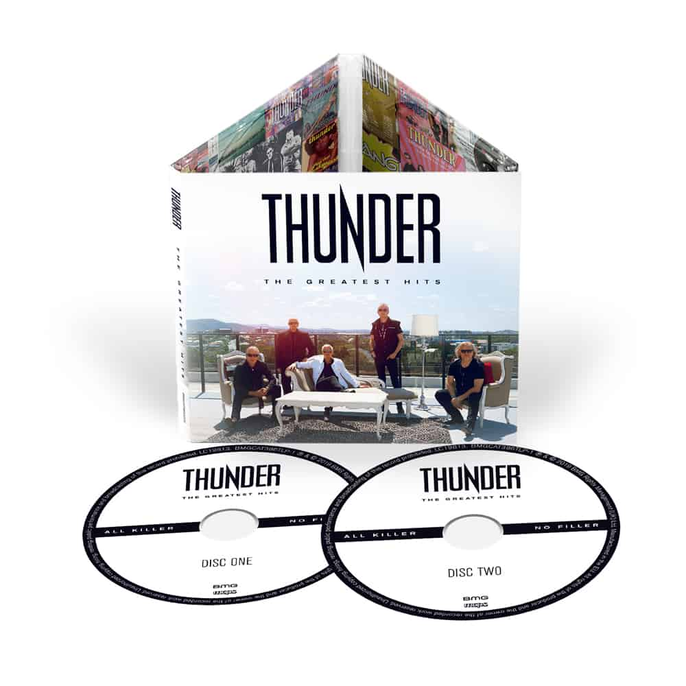 Buy Online Thunder - The Greatest Hits 2CD (Signed)