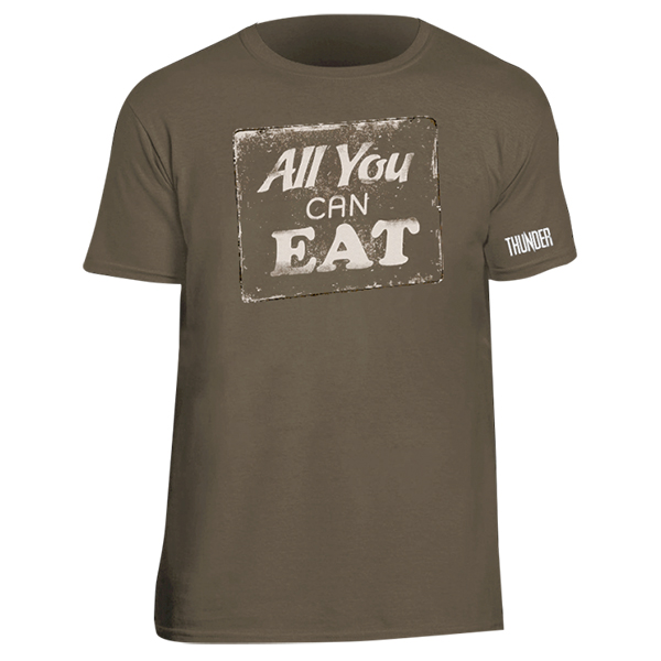 Buy Online Thunder - All You Can Eat T-Shirt