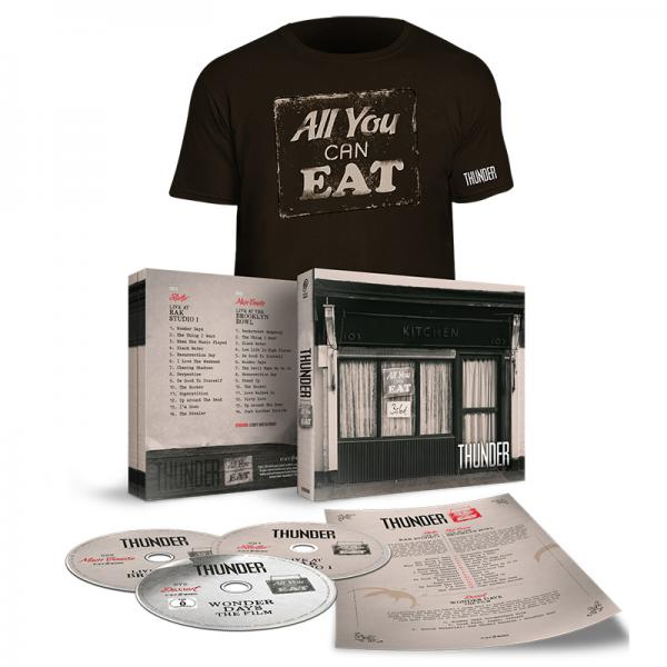 Buy Online Thunder - All You Can Eat Deluxe Edition (With Tee & Signed Menu)