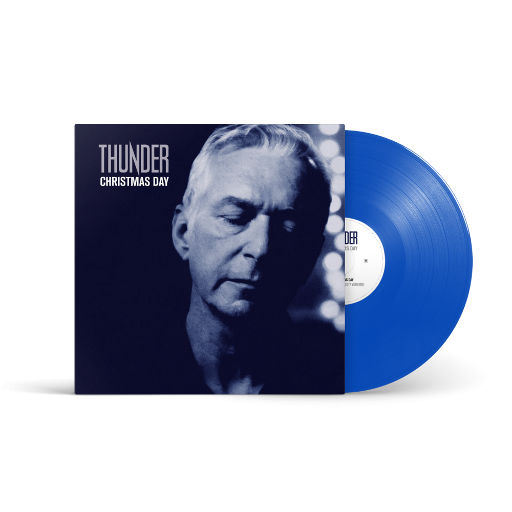 Buy Online Thunder - Christmas Day 10-Inch Single (Exclusive Ltd Edition, Blue Vinyl)