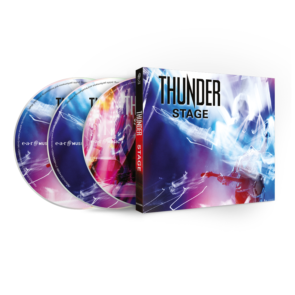 Buy Online Thunder - Stage 2CD + Blu-ray