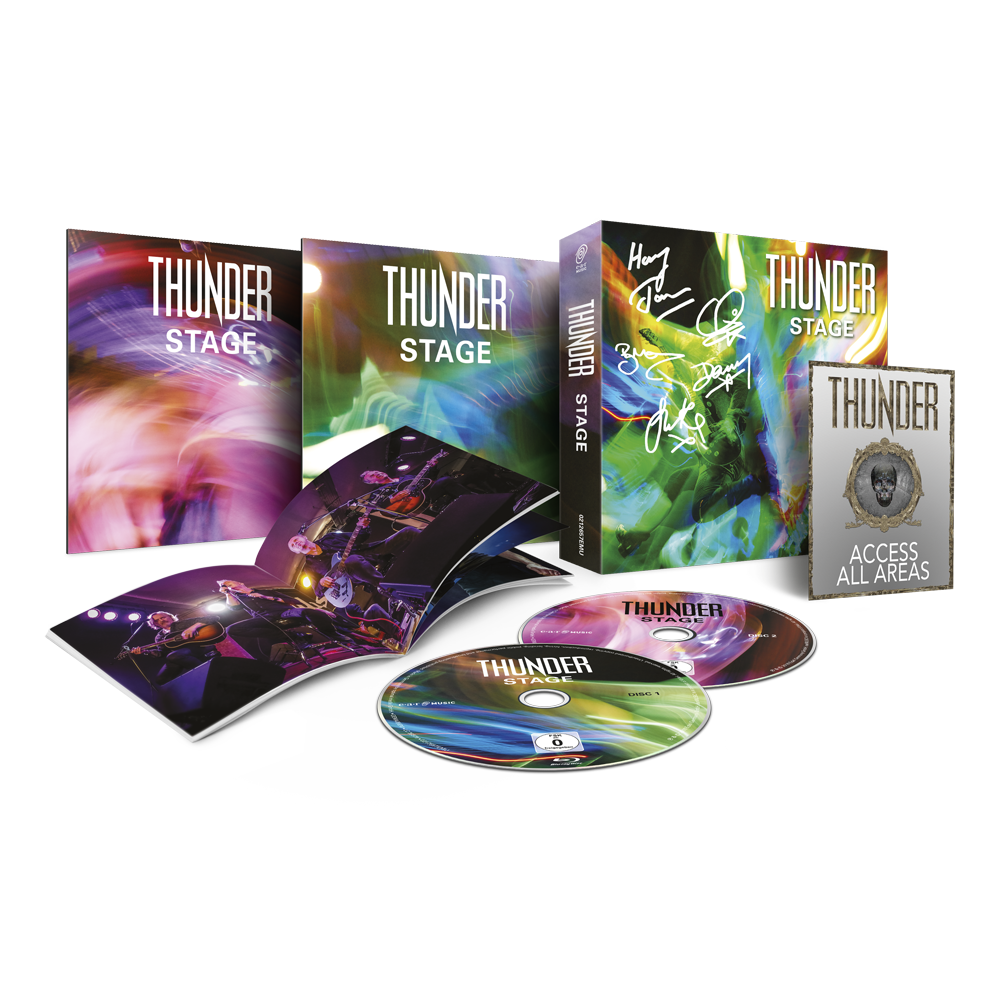 Buy Online Thunder - Stage Super Video Boxset (Signed & Limited)