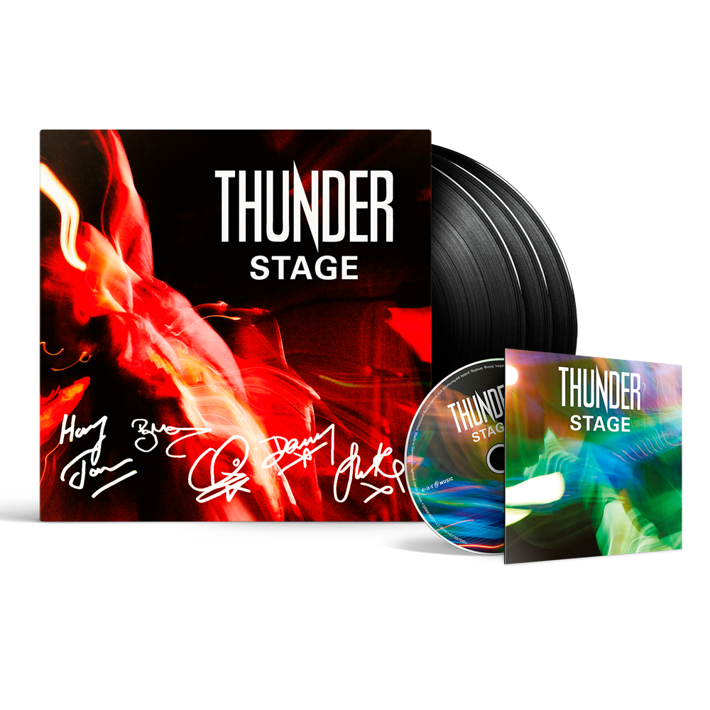 Buy Online Thunder - Stage 3LP + Blu-ray (Signed & Limited)