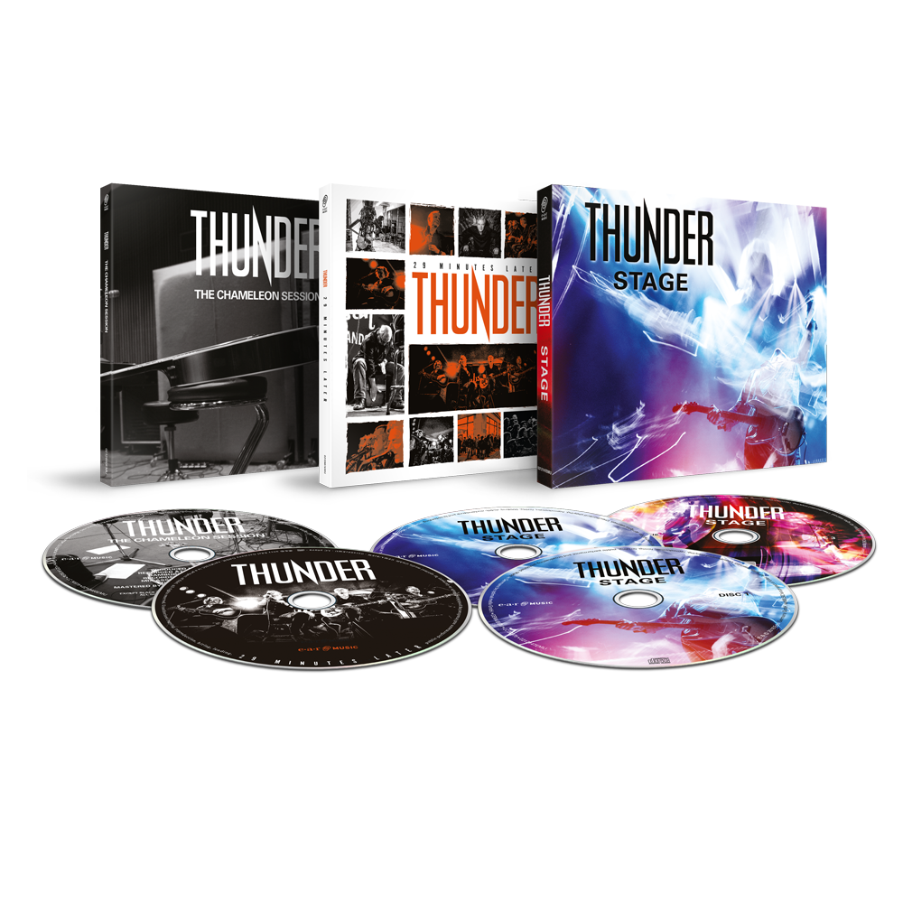Buy Online Thunder - Stage 2CD + Blu-ray + The Chameleon Session CD + 29 Minutes Later CD