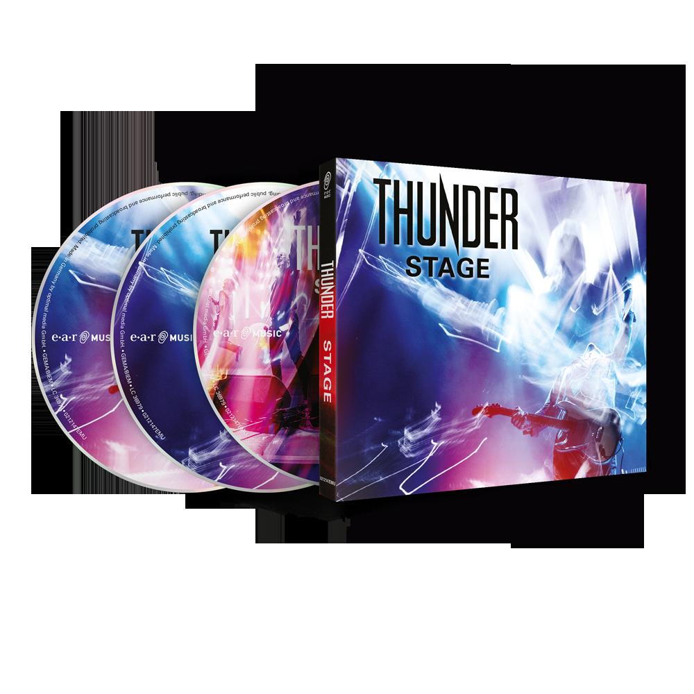 Buy Online Thunder - Stage 2CD + DVD