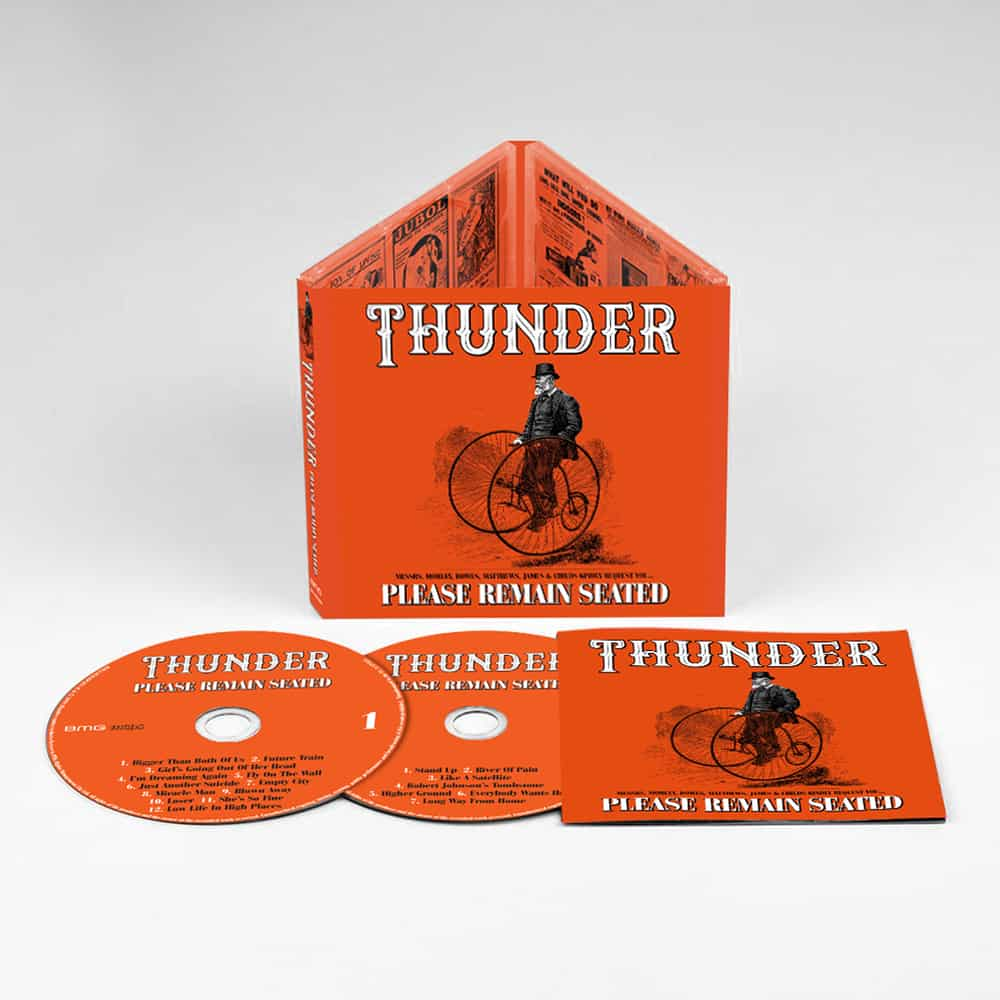 Buy Online Thunder - Please Remain Seated Deluxe