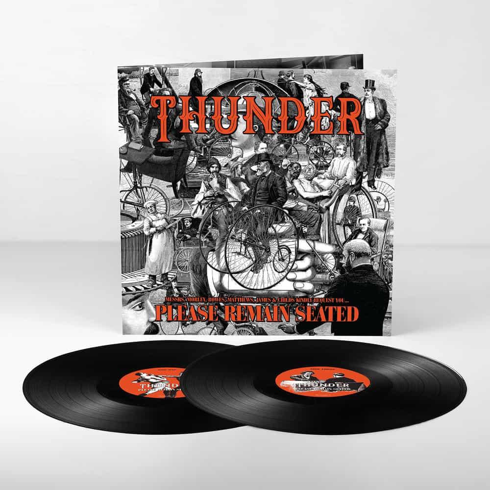 Buy Online Thunder - Please Remain Seated Black Double Gatefold Vinyl