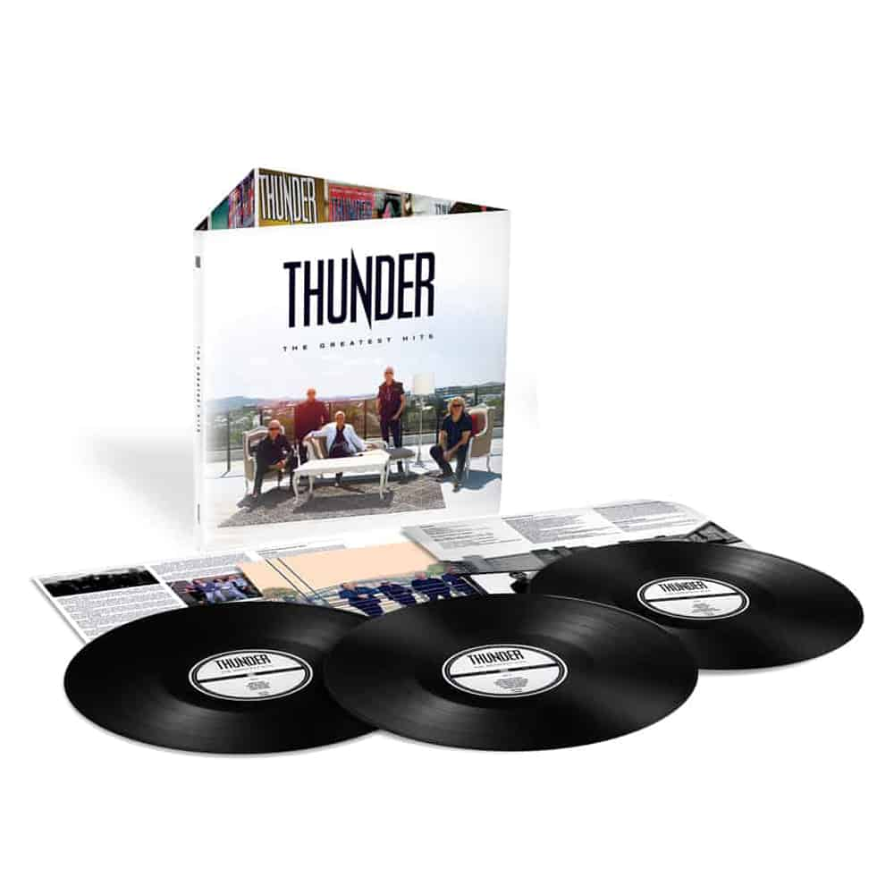 Buy Online Thunder - The Greatest Hits + Band Photo (Signed)