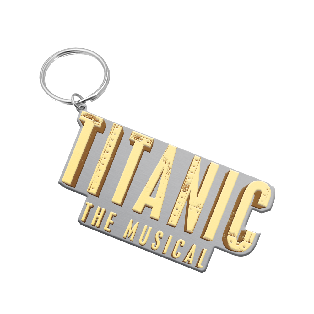 Buy Online Titanic The Musical - Logo Keychain