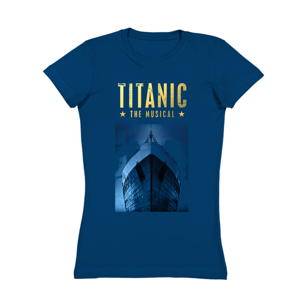 Buy Online Titanic The Musical - Foil Crew T-Shirt