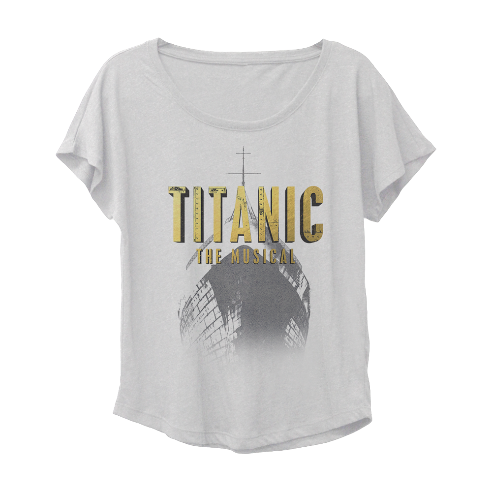 Buy Online Titanic The Musical - Logo Dolman