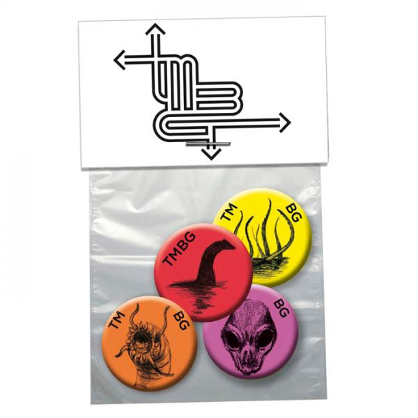 Buy Online They Might Be Giants - 4 x Badge Set