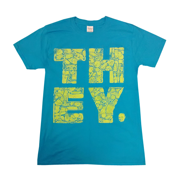 Buy Online They Might Be Giants - Blue They T-Shirt