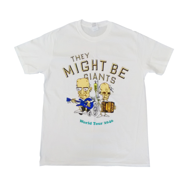 Buy Online They Might Be Giants - 2040 Tour T-Shirt