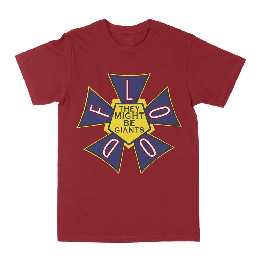 Buy Online They Might Be Giants - Flood Logo T-Shirt