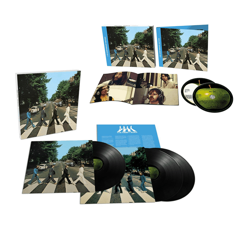 Abbey Road 50th Anniversary Super Deluxe Edition Triple Vinyl + Deluxe CD