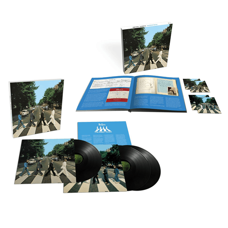 Abbey Road 50th Anniversary Super Deluxe Edition CD Boxset + Triple Vinyl