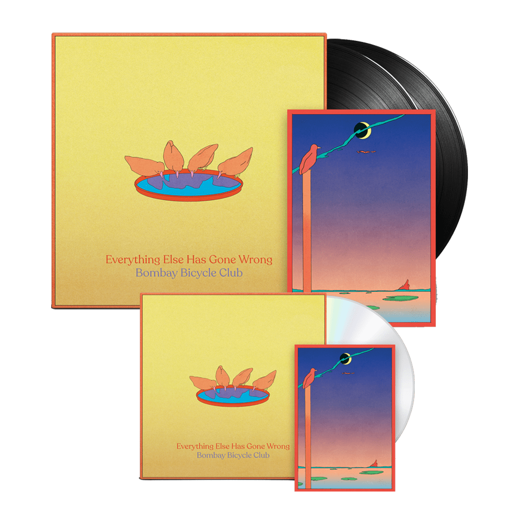 Everything Else Has Gone Wrong CD + Deluxe Vinyl
