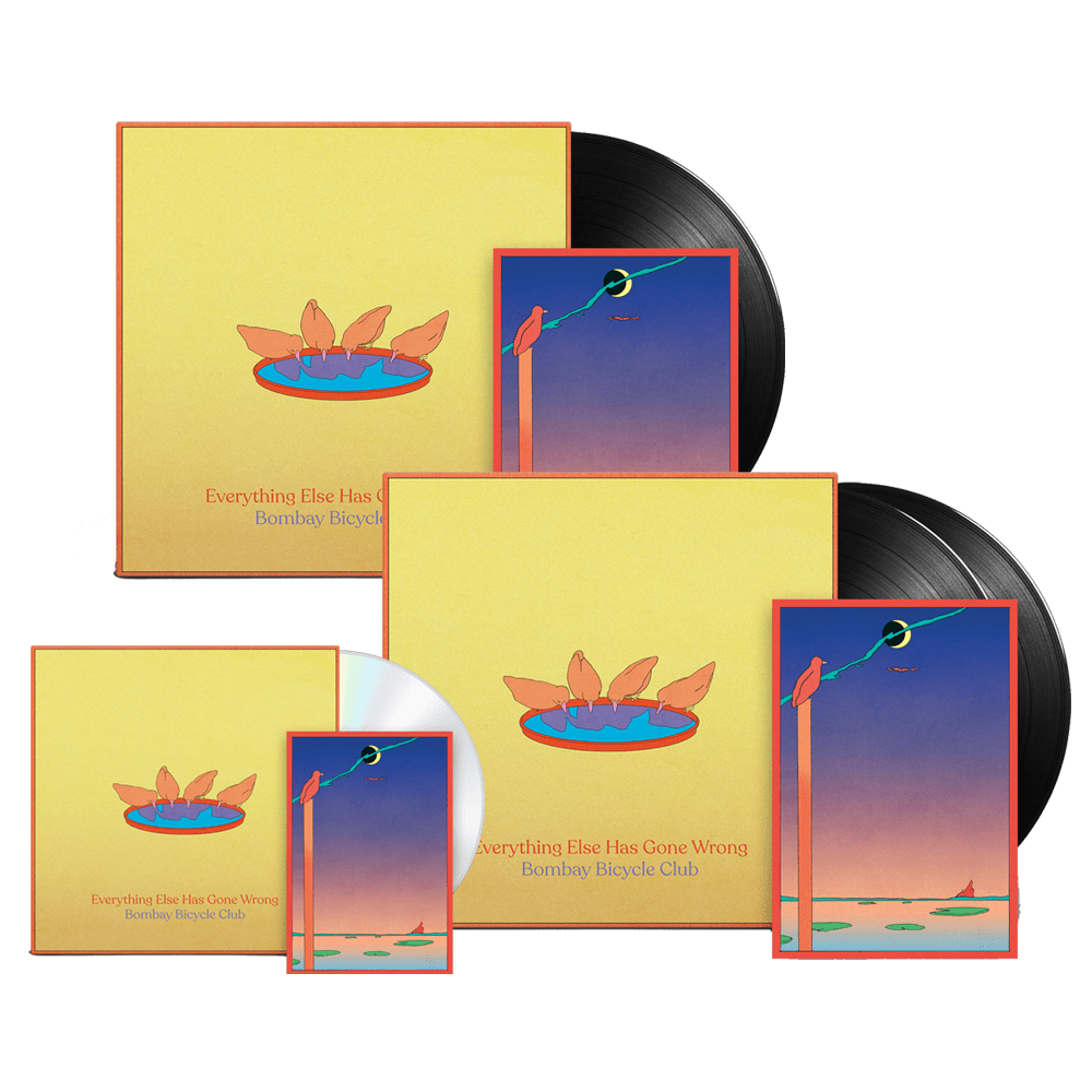 Everything Else Has Gone Wrong CD + Vinyl + Deluxe Vinyl