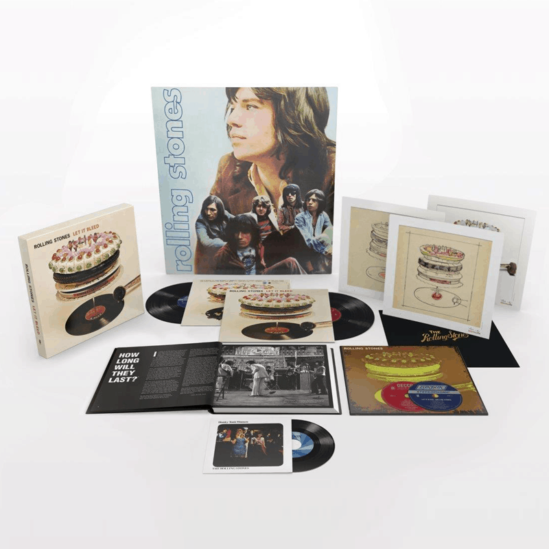 Buy Online The Rolling Stones - Let It Bleed 50th Anniversary Edition Deluxe Boxset