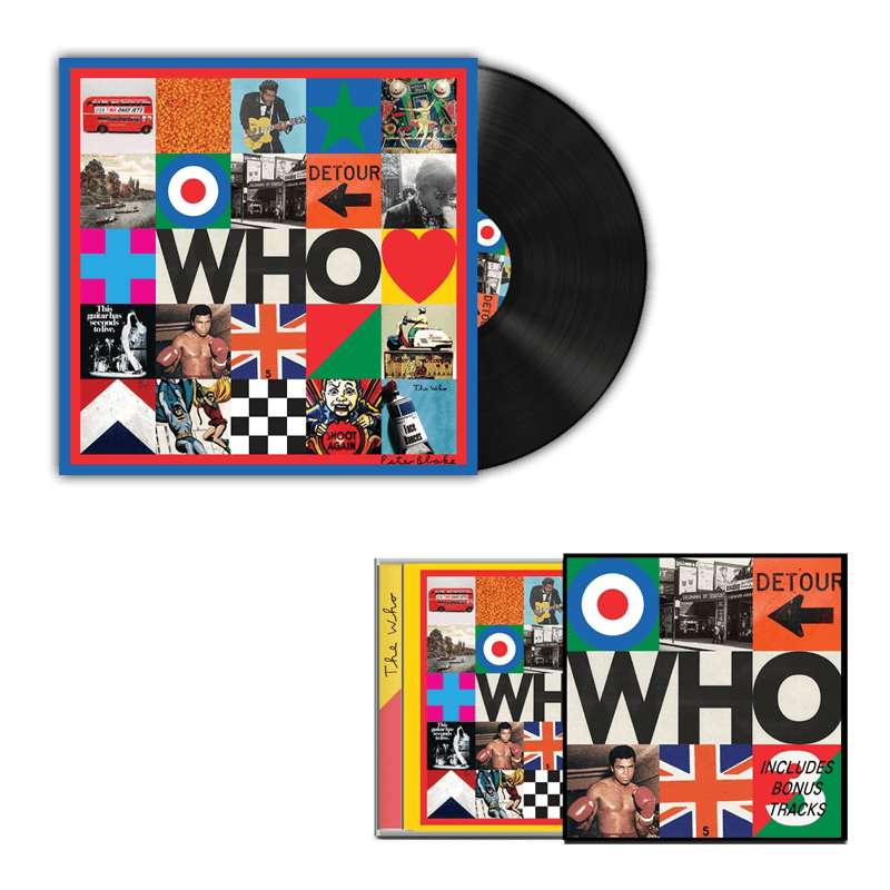 Buy Online The Who - Who Deluxe CD + Vinyl