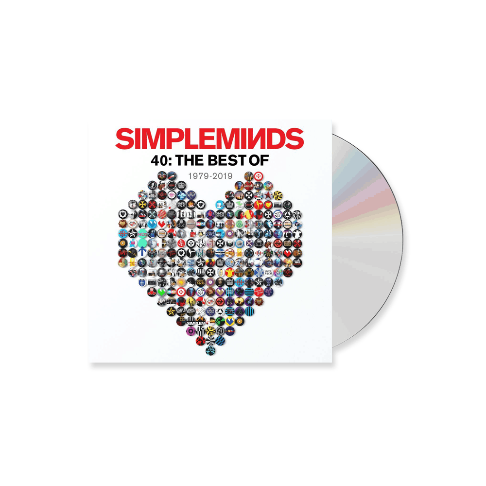 Buy Online Simple Minds - 40: The Best Of 1979-2019