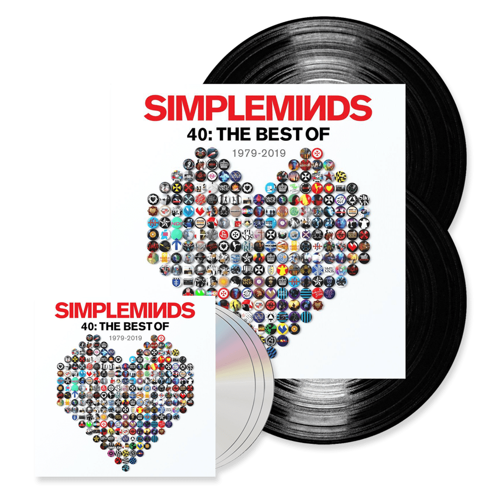 Buy Online Simple Minds - 40: The Best Of 1979-2019 Double Vinyl + 3CD Album