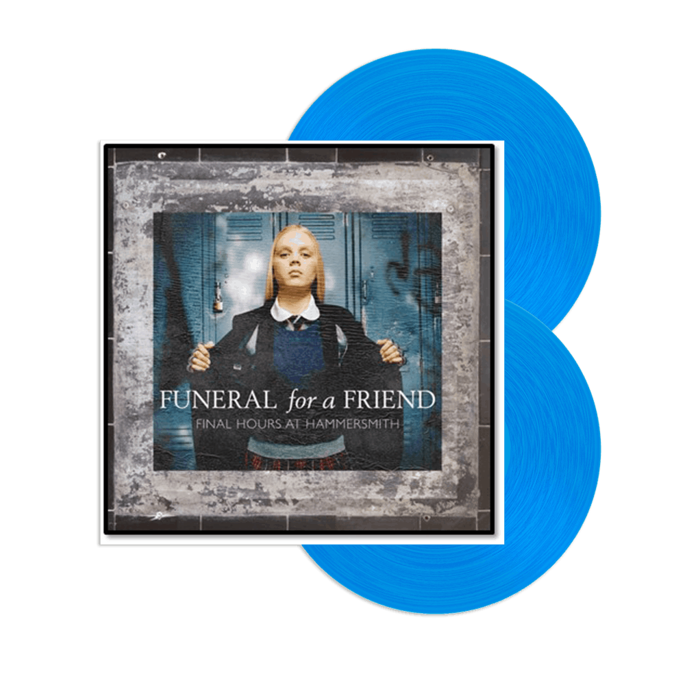 Buy Online Funeral For A Friend - Final Hours At Hammersmith Transparent Blue