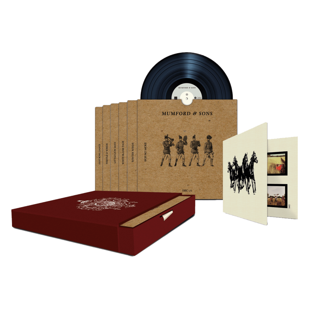 Buy Online Mumford & Sons - Sigh No More 7-Inch Boxset