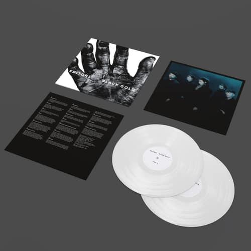 Buy Online Editors - Black Gold Double White Vinyl